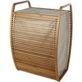 möve Wäschekorb Bamboo wood