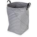 möve Wäschekorb Weave grey 40 x 50 cm