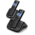 Motorola T212B Duo Set mit AB, black