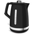 Moulinex Wasserkocher Soleil Schwarz mit Edelstahl-Applikationen