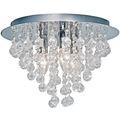 Nino Leuchten Deckenleuchte Kristall Glas chrom LONDON 63040306