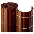 NOOR Balkonblende Balkon Sichtschutz PVC Premium MADE IN GERMANY ca. Größe 0,90x3 m Farbe braun
