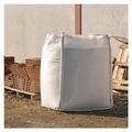NOOR Big Bag FIBC Sack 1000 kg mit Schürze & Auslauf Beschichtung, weiß, 1000kg, 5:1 ca. Größe 90 x 90 x 125 cm