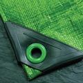 NOOR Abdeckplane Super 200g/m² Gewebeplane ca. Größe 4x5 m Farbe grün