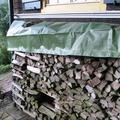 NOOR Holz-Abdeckplane 210g/m² ca.1,50 x 12 m grün