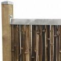 NOOR Montageprofil für Sichtschutzmatten 1,80m 2er Set