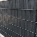 NOOR Sichtschutzstreifen 0,19x2,55 m Rattan anthrazit