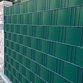 NOOR Sichtschutzstreifen PVC 0,19x2,55m Zaunblende Hart Farbe grün ~RAL6005