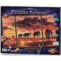 Schipper Malen nach Zahlen - Elefanten-Karawane (Triptychon)