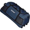 NOWI XXL Riesen Reisetasche mit 3 Rollen Rollenreisetasche 81 cm dark blue