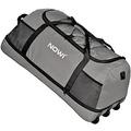 NOWI XXL Riesen Reisetasche mit 3 Rollen Rollenreisetasche 81 cm grey