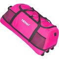 NOWI XXL Riesen Reisetasche mit 3 Rollen Rollenreisetasche 81 cm pink