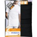 nur der T-Shirt 100% Cotton Rundhals DP-094 schwarz 5