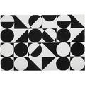 Obsession Teppich My Black & White 392 black-white 120 x 170 cm