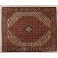 Oriental Collection Bidjar-Sand rot 75970, Perser-Teppich, 247 x 305 cm