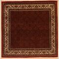 Oriental Collection Bidjar m.Seide rot 75985, Perser-Teppich, 205 x 208 cm