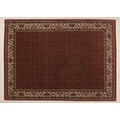 Oriental Collection Bidjar m.Seide rot 76061, Perser-Teppich, 175 x 245 cm
