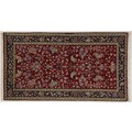 Oriental Collection Kerman-Teppich 70 x 130 cm - Florhöhe: 8 mm