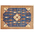 Oriental Collection Rissbaft blau 75953, Orient-Teppich, 173 x 243 cm