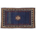 Oriental Collection Gabbeh-Teppich Rissbaft Classic 75 x 124 cm