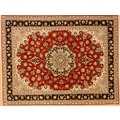 Oriental Collection Tabriz 50 a. Seide rot 153 x 200 cm