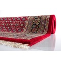 Oriental Collection Teppich Varanasi Herati rot 40 cm x 60 cm