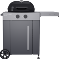Outdoorchef Gaskugelgrill Arosa 570 G Grey Steel, schwarz