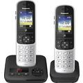 Panasonic KX-TGH722, schwarz