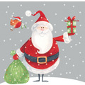 Paper+Design Servietten Tissue 33 x 33 cm Santa with Oskar 20er Pack