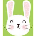 Paper+Design Servietten Tissue Cute bunny 24 x 24 cm 20 Stück