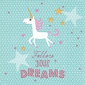 Paper+Design Servietten Tissue Follow your dreams 33 x 33 cm 20er
