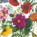 Paper+Design Servietten Tissue Royal garden 33 x 33 cm 20er