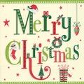 Paper+Design Tissue Servietten Christmas letters 33 x 33 cm 20 Stück