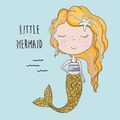 Paper+Design Tissue Servietten Little mermaid 33 x 33 cm 20 Stück
