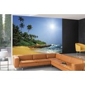 papermoon Fototapete 7 Bahnen, Digitaldruck Sri Lanka Tropical Beach, Tapetenbahn 50cm, Spezial Tapetenpapier, BlueBack 350 x 260 cm