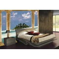 papermoon Fototapete 8 Teile, Spezial Tapetenpapier, BlueBack, Palmeninsel Malediven 366 x 254 cm