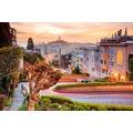 papermoon Fototapete Lombard Street in San Francisco 7 Bahne 350 x 260 cm