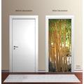 "papermoon Wand & Türdekor, Fototapete ""Tür"", Spezial Tapetenpapier, Bamboo 90 x 200cm"