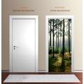 """papermoon Wand & Türdekor, Fototapete """"Tür"""", Spezial Tapetenpapier, Wald 90 x 200cm"""