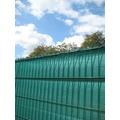 Peddy Shield Sichtschutz HDPE, grün, incl. Kordel, 120 cm x 500 cm Länge