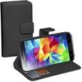 Pedea BookCover Classic für Samsung Galaxy S5, schwarz