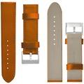Pedea Uni Uhren-Lederarmband 22mm für Huawei, cognac