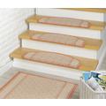 Peyer Syntex Stufenmatte Clara 5301 terra 65 x 23,5 x 3,5 cm halbrund