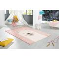 Peyer Syntex Teppich Lara rosa 80 cm x 150 cm