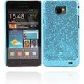 Twins Disco für Samsung i9100 Galaxy S2, hellblau