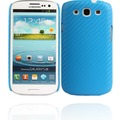 Twins Carbon für Samsung Galaxy S3, blau