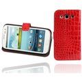 Twins BookFlip Red Dragon für Samsung Galaxy S3
