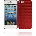 Twins Perforated für iPhone 5/5S/SE, rot