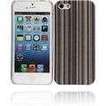 Twins Fine Stripes für iPhone 5/5S/SE, schwarz