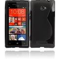 Twins Fancy Bright für HTC Windows Phone 8X, schwarz